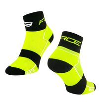 Kojinės trumpos FORCE Sport (fluorescencinė/juoda) 36-41 (S-M)