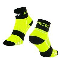 Kojinės trumpos FORCE Sport (fluorescencinė/juoda) 42-46 (L-XL)