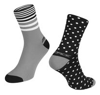 Socks FORCE SPOT (black/grey) L-XL/42-46
