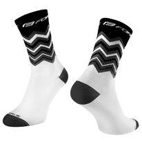 Kojinės FORCE Wave, (juoda/balta) S-M 36-41
