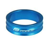 """Vairo kolonėlės žiedas FORCE 1 1/8"""" 10mm (aliuminis, mėlynas)"""