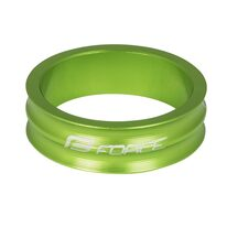 "Spacer FORCE 1 1/8"" 10mm (aluminium, green)"