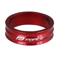 "Spacer FORCE 1 1/8"" 10mm (aluminium, red)"