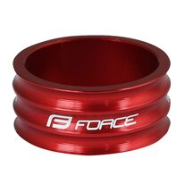 "Spacer FORCE 1 1/8"" 15mm (aluminium, red)"