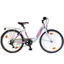 """SPRINT Starlet 24"""" 6G dydis 12,5"""" (31cm) (balta/neoninė rožinė)"""