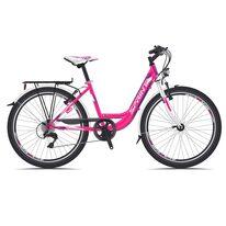 """SPRINT Starlet 24"""" размер 15"""" (38см) (Розовый / белый)"""