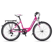 "SPRINT Starlet 24"" размер 15"" (38см) (розовый / фиолетовый / белый)"