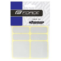 Stickers FORCE Reflekton (6 pcs, silver)