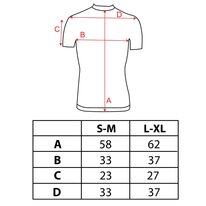 Marškinėliai / termo apatiniai FORCE Wind (balti) L-XL