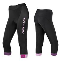 Tights 3/4 KLS Maddie woman, with padding (black/pink) M