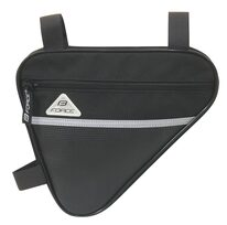 Trikampis rėmo krepšelis FORCE Classic Eco 1,3l (juodas)