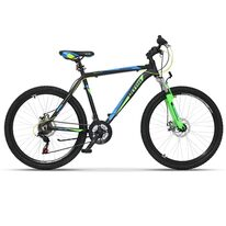 "ULTRA Agresor 26'' size 19"" (48cm) (black/green/blue)"