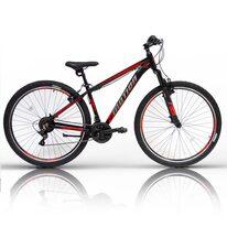 """UMIT 4Motion V-brake 26"""" dydis 16"""" (41 cm) (juoda/raudona)"""