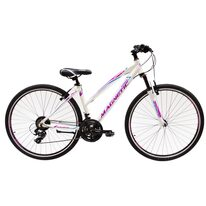 "UMIT Magnetic Lady MSV V-brake 28"" size 17"" (43cm) (white/violet)"