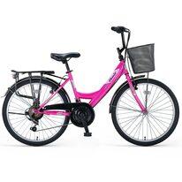 """UMIT Safiro Lady V-Brake ATB 24"""" (pink/white)"""