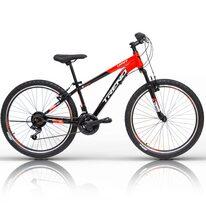 """UMIT Trend MSV V-brake 26"""" dydis 14"""" (35.5cm) (juoda/raudona)"""