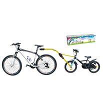 Vaikiško dviračio kieta vilktis Peruzzo Trail Angel (geltona)