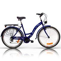 """Zeger Classic 26"""" 6G dydis 19"""" (48cm) (plienas, mėlyna)"""