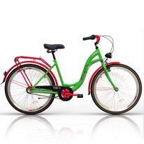 "Zeger Classic 26"" N3 dydis 18"" (45cm) plienas (žalia/raudona)"