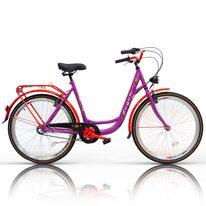 "Zeger Classic 26"" N3 dydis 19"" (48cm) (plienas, violetinė/raudona)"