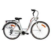"""Zeger Comfort Bike 28"""" 6G размер 18,5"""" (47 cm) (белый / красный / черный)"""