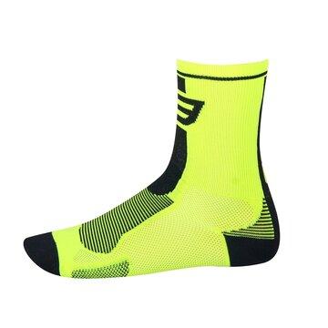 Kojinės FORCE Long (fluorescentinė/juoda) 42-47 L-XL