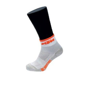 Kojinės KTM FT (balta/oranžinė) dydis 40-43