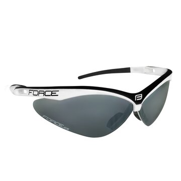 Akiniai FORCE Air UV 400 (balta/juoda)