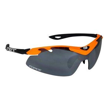 Akiniai FORCE Duke UV 400 (juoda/oranžinė)
