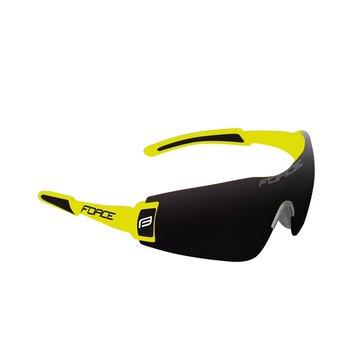 Akiniai FORCE Flash UV 400 (fluorescencinė/juoda)