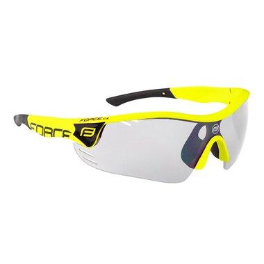 Akiniai FORCE Race Pro skaidrūs stiklai (fluorescenciniai)