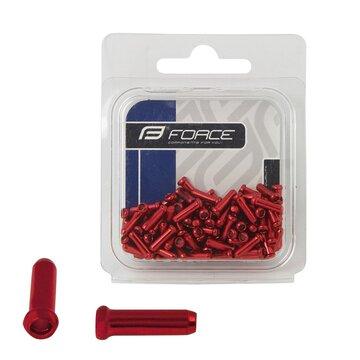 Troselio galas 2mm (aliuminiai, raudoni)