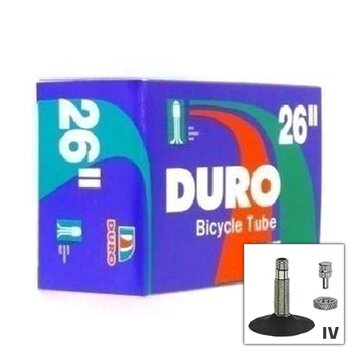 Kamera DURO 26x1.50/1.90 (40/50-559) IV (dėžutėje)