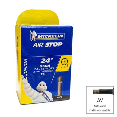Kamera Michelin E4 24x1.50/1.90 (37/47-490/507) AV34