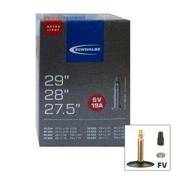 Kamera Schwalbe MTB SV19A Extralight 27.5x2.00 / 29x2.40 (50/60-584 40/62-622/635) FV 40mm (dėžutėje)