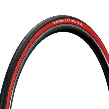 Padanga Michelin Lithion 3 700x25 (25-622) (juoda/raudona)