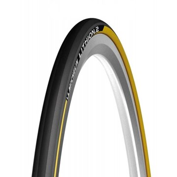 Padanga Michelin Lithion V2 700x23 (23-622) (geltona/juoda)