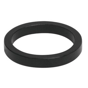 """Vairo kolonėlės 28,6mm žiedas 1 1/8"""" 5mm (aliuminis, juodas)"""