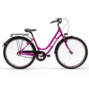 """Victoria Lady 28"""" N3 dydis 18"""" (46cm) (aliuminis, rožinė)"""